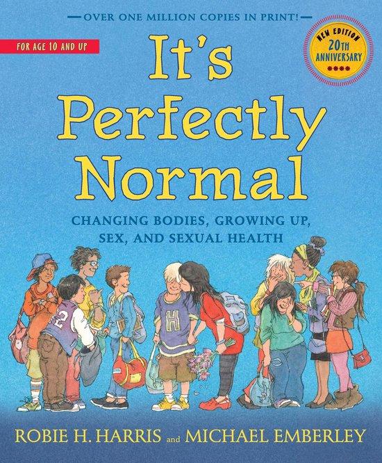 Boek cover Its Perfectly Normal van Robie H. Harris (Paperback)