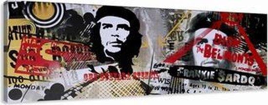 Art4-all - Canvas Schilderij Che Guevara - 120x40cm