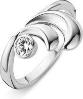 Orphelia Ring Bogen White Zirconium Sterling Zilver 925 Zr-3776/56