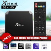 X96 Mini Android 7.1.2 Tv Box 2gb RAM + 16GB ROM + Gartis Bluetooth Mini Keyboard