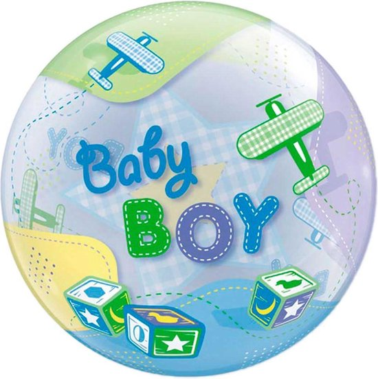 Baby Boy Bubbles - 56 cm
