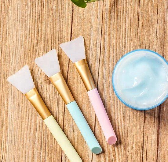 Siliconen Kwast voor Gezichtsmasker / Mask Brush - Merkloos