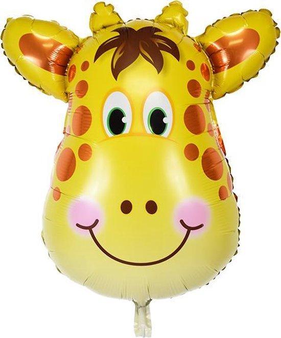 Folie helium ballon Giraffe 89cm