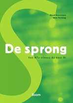 Boek cover De sprong - van NT2-niveau A2 naar B1 van Maud Beersmans (Paperback)