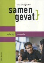 Boek cover Samengevat - vmbo-kgt Economie van P.M. Leideritz