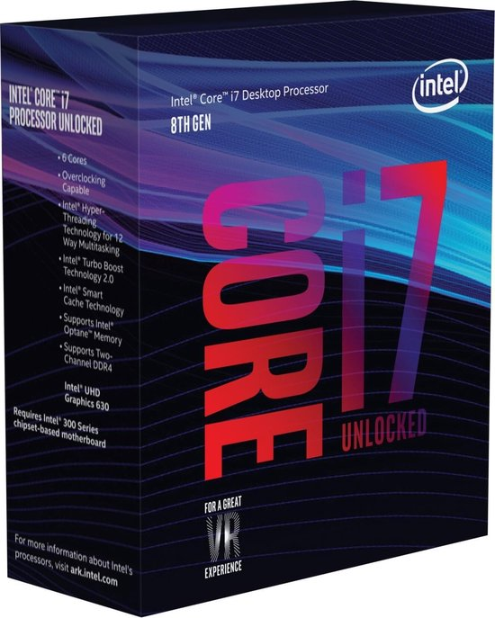 Intel Core i7-8700K LGA1151 Coffee Lake CPU