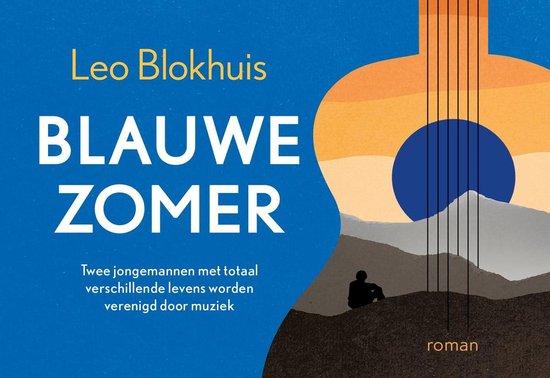 Boek cover Blauwe zomer DL van Leo Blokhuis (Onbekend)