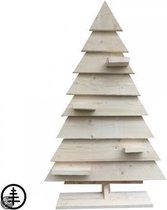 Steigerhoutdesign Decoratieve kerstboom - 145 cm - Steigerhout - bouwpakket