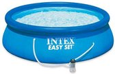 Intex Easy Set Zwembad  Ø: 366 cm H: 76 cm - Opblaaszwembad