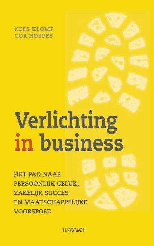 Boek cover Verlichting in business van Kees Klomp (Paperback)