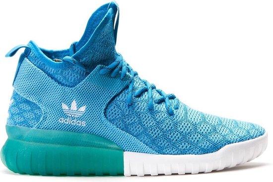 adidas tubular blauw