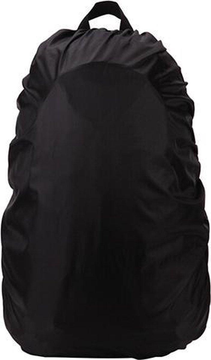 Regenhoes voor rugzak 25L tot 35L - Zwart