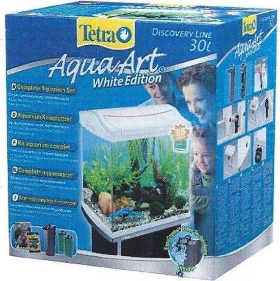Tetra Aqua Art Aquarium - 35x35x25 cm - 30L - Wit