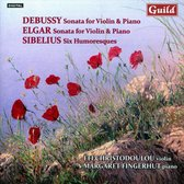 Debussy/Elgar Violinsonaten