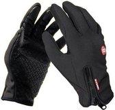 Sitna Neopreen Fietshandschoenen Unisex - Zwart -