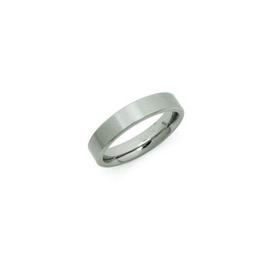 Boccia Titanium 0120-03 Ring - Titanium - Zilverkleurig
