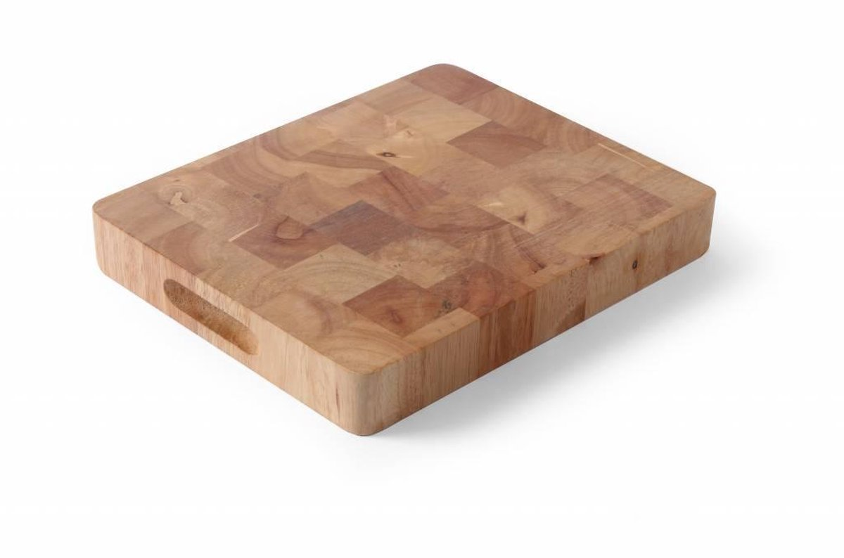 Hendi Snijplank GN1/1 - 4,5x32,5x53 cm - Rubberwood