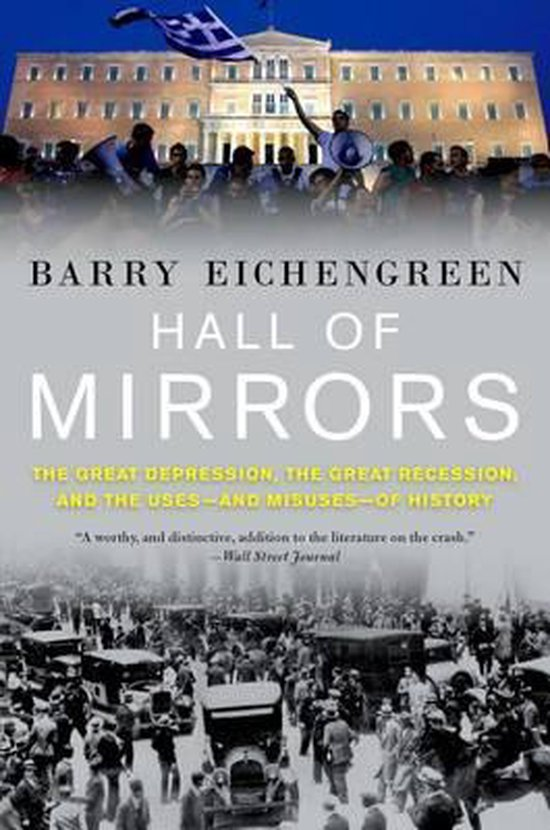 Boek cover Hall of Mirrors van Barry Eichengreen (Paperback)