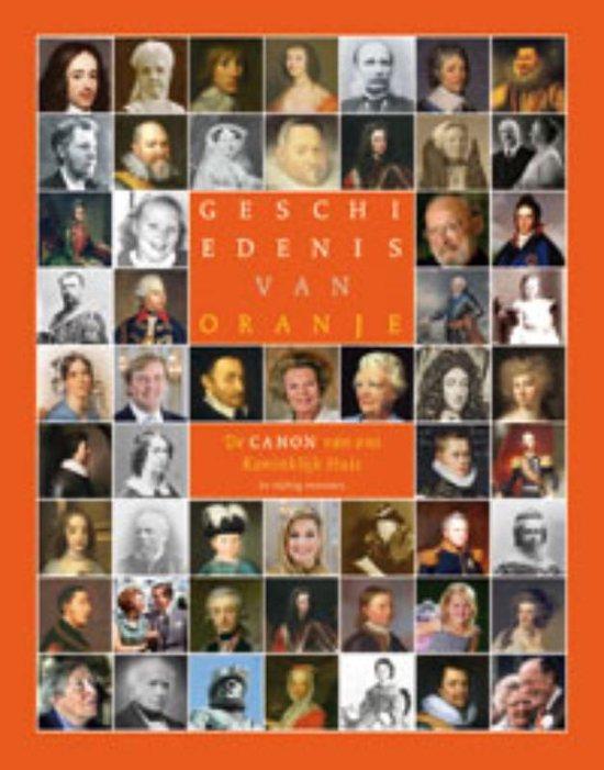 Cover van het boek 'Geschiedenis van Oranje'