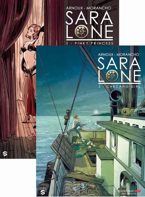 Sara lone 01. kennismakingsmet delen 1 + 2 - DAVID. Morancho, |