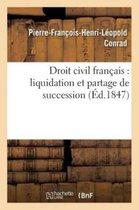 Droit civil francais: liquidation et partage de succession . Jus romanum