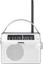 Sangean PR-D6 - Draagbare radio - Wit