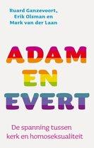 Boek cover Adam en Evert van Ruard Ganzevoort