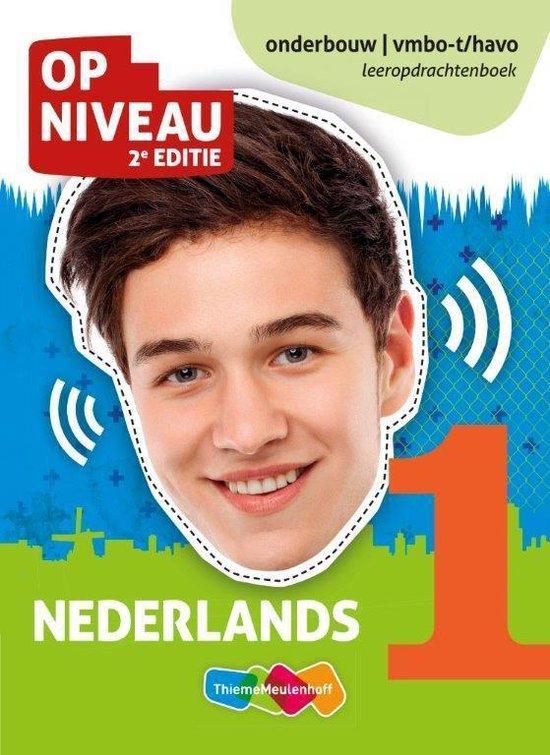 Op Niveau 1 Nederlands vmbo-t/havo Leeropdrachtenboek - none  