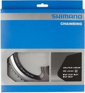 Shimano Dura-Ace FC-9000 Kettingblad 11-speed, MC, silver/black Uitvoering 52T