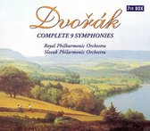 Dvorak: Complete 9 Symphonies / Kosler, Menuhin et al
