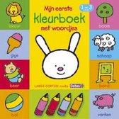 Lange Oortjes  -  Mijn eerste kleurboek met woordjes 1-3 jaar