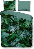 Snoozing Jungle - Dekbedovertrek - Tweepersoons - 200x200/220 cm + 2 kussenslopen 60x70 cm - Green