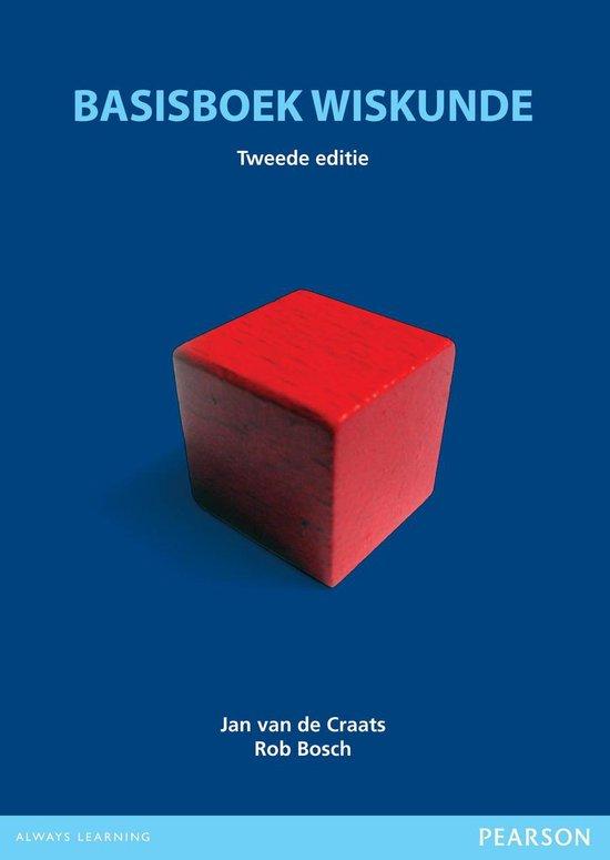 Basisboek wiskunde - Jan van de Craats |