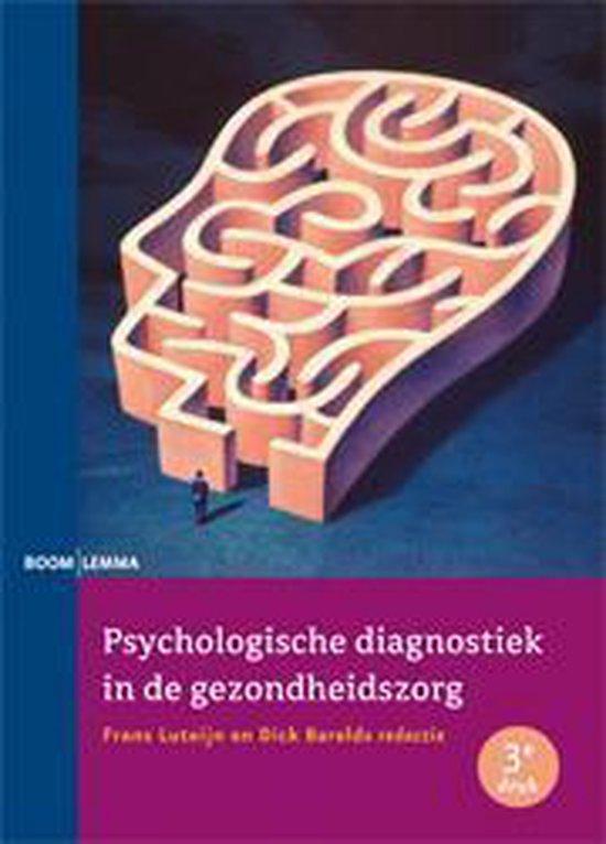 Psychologische diagnostiek in de gezondheidszorg - Frans Luteijn |