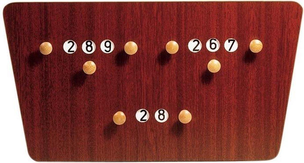 Large Carom Scoreboard
