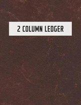 2 Column Ledger