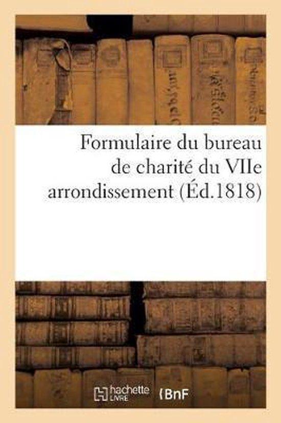 Formulaire Du Bureau de Charite Du Viie Arrondissement