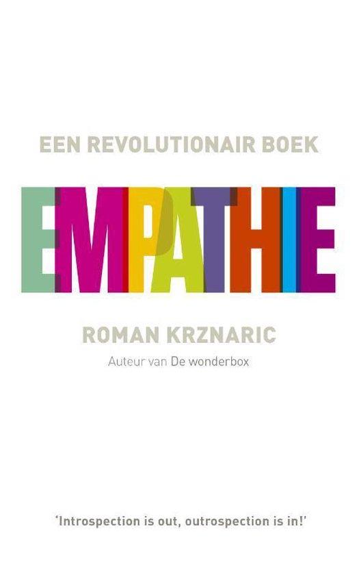 Boek cover Empathie van Roman Krznaric (Paperback)