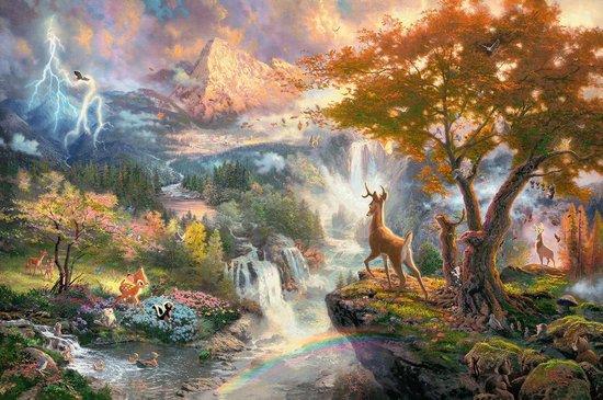 Schmidt Disney Classics- Bambi Puzzel - 1000 stukjes - Schmidt