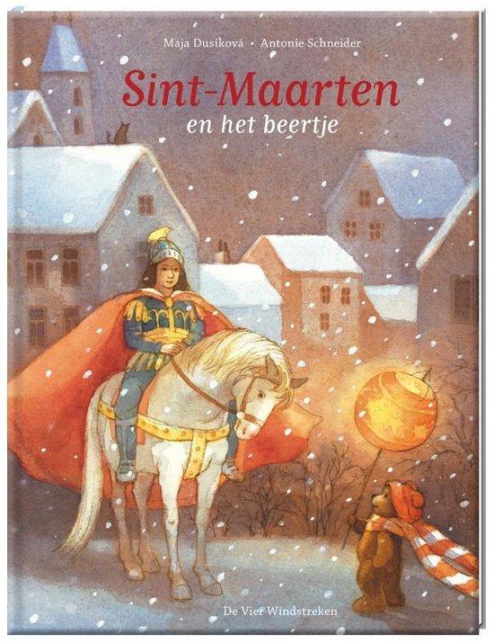 Boek cover Sint-Maarten en het beertje van M. Dusikova