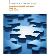Linear Algebra and Its Applications: Pearson International Edition