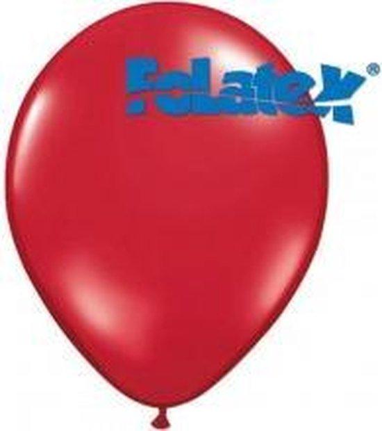 Ballonnen Rood 30 cm 25 stuks