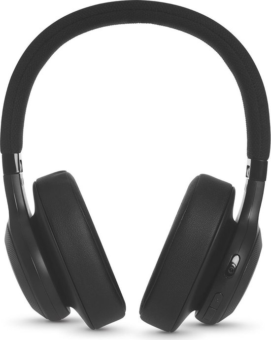 JBL E55BT - Draadloze over-ear koptelefoon - Zwart
