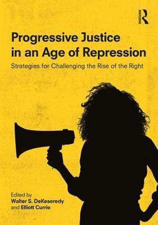 Boek cover Progressive Justice in an Age of Repression van  (Paperback)