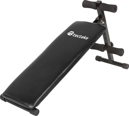 Buiktrainer sit up bench buikspierbank fitness bank 401078
