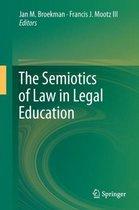 Boek cover The Semiotics of Law in Legal Education van