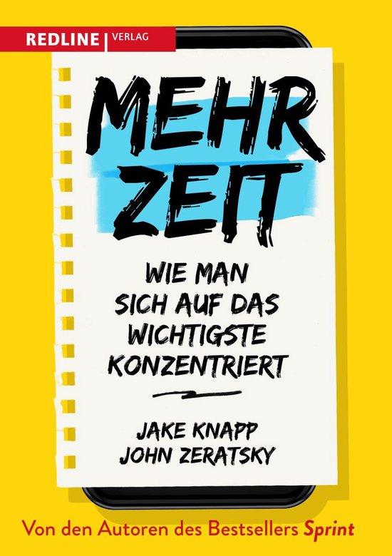 Boek cover Mehr Zeit van John Zeratsky (Onbekend)