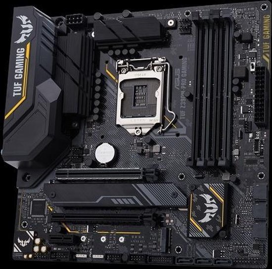 ASUS TUF Z390M-PRO GAMING Intel Z390 LGA 1151 (Socket H4) micro ATX