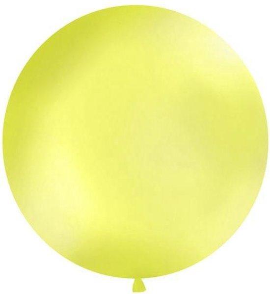 Reuzeballon 1 meter - metallic appel groen