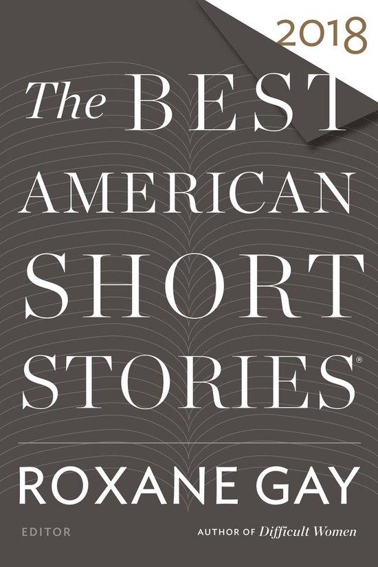 Omslag van The Best American Short Stories 2018
